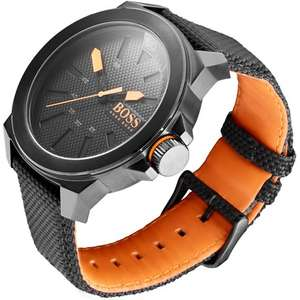 Hugo Boss Nylon Black watch with contactless payment £77.99 at Pingit