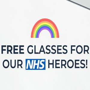 Free pair of prescription glasses for NHS workers - just pay £9.95 P&P. 100 codes per day @ Fashion Eyewear