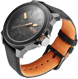 40% off Hugo Boss Black Nylon Watch with Pingit pay technology built in £77.99 @ Barclays Bank / Ping It Store