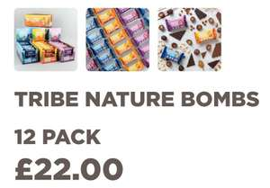 TRIBE - NATURE BOMBS 12 Pack, £12 with code and free Shipping