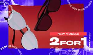 Two for one at Hawkers Sunglasses - from £24.99 each