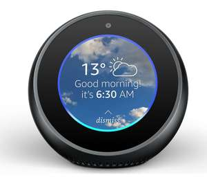 AMAZON Echo Spot - Black £54.97 delivered at Currys PC World