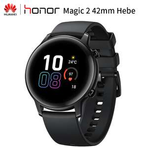 Honor Magic Watch 2 42mm Fitness Tracker Black Smartwatch for £87.59 delivered (with code)@ ALiexpress Deals / Gamer1987 Store