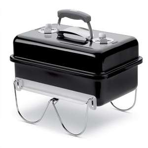 Weber Go Anywhere Portable Charcoal BBQ £54 via newsletter at Squire's Garden Centres