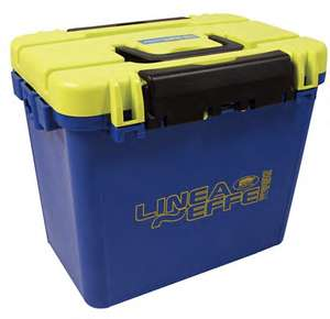 Lineaeffe Super Seatbox Blue/Yellow ay Angling Direct for £20 delivered