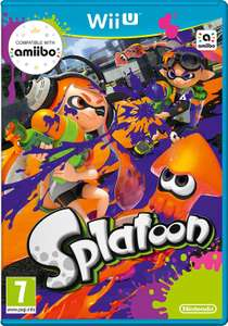 Splatoon (Wii U Pre-Owned) - £8 Instore or £1.95 delivery @ CeX