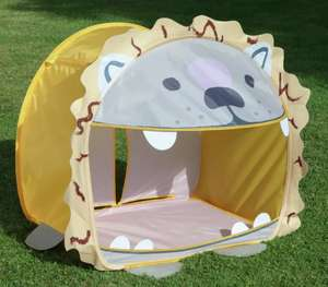 Party Animals Kids Lion Ball Pit pop up Tent £12.00 with Free Click and collect from Argos