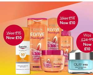 £10 Flash Sale on Selected Items, Huda Lip, Olay Eye Gel, Glo teeth whitening No7 Pads all included @ Boots Today ( £1.50 C&C Free of £20)