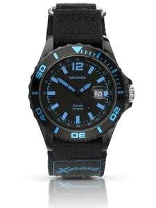 SekondaMens Xpose Sports Black Dial Nylon Strap Watch 3523 £9.89 at House of Watches