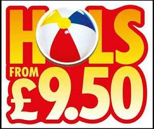 The Suns £9.50 holidays