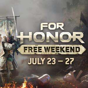 PC GAME - Epic Store - For Honor for this weekend