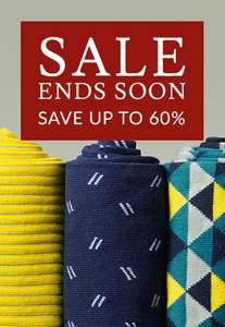 Extra 20% off the up 60% sale w/code Tie's From £9.56 Shirts From £15.96 Trousers from £24 + Delivery £4.95 from Charles Tyrwhitt