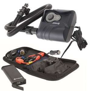 Exclusive OutwellElectric Tent Pump & 12v Powerbank Bundle Deal£89.99 @ Camping World