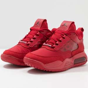 JORDAN MAX 200 Trainers - full Red - £63.24 + £10 off with new account discount at Zalando - possibly £53.24! + free delivery