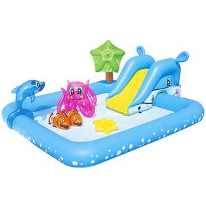Bestway Fantastic Aquarium Play centre Paddling Pool £27.20 with Free Click and collect @ B&Q