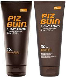 Piz Buin reduced to clear £2 instore - Robert Dyas Fleet