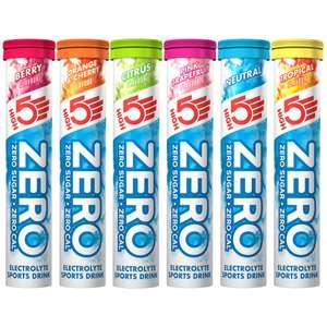 High5 zero - 20 Tablets - Pink Grapefruit / Cherry / Orange - £2.50 @ B&M (Westcroft, Milton keynes)