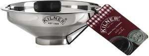 Kilner Stainless Steel Easy Fill Jam Jar Funnel, Silver, 14 x 14 x 5 cm £3.74 (Prime) + £4.49 (non Prime) at Amazon