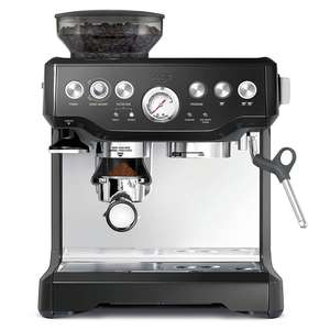 Sage Barista Express Bean to Cup Coffee Machine Including Milk Jug BES875BKS at Costco for £399.99