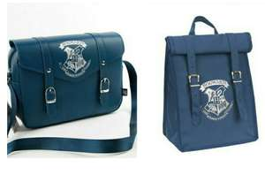 Harry Potter Navy Satchel Lunch Bag £9 / Harry Potter Navy Roll Top Lunch Bag £6 @ Argos - Free Click and Collect - More in the OP