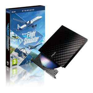 Flight Simulator Standard with ASUS External Drive (10 Disc Game) at Scan for £69.98 / £74.77 delivered