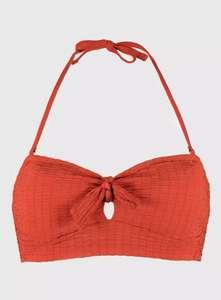 Bandeau Bikini Top £4 (Was £8) / Textured Bikini Briefs £3 (was £6) @ Argos (Free Click & Collect)