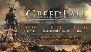 GreedFall PC £21.99 at Steam