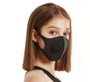 Reusable face masks with valve x 2 £1.69 @ £1.99 del @ Groupon