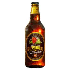 Kopparberg Strawberry & Lime cider 15x500ml for £16 at Sainsburys Wandsworth