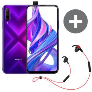 HONOR 9X PRO 6GB+256GB Phantom Purple + BT sport earphones for £199 delivered @ Honor