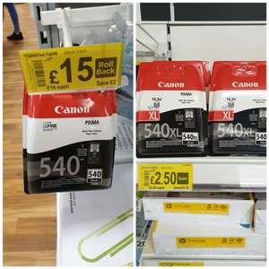 Canon 540xl ink cartridge £2.50 at Asda living Oxford