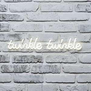 Lights4fun twinkle twinkle wall light £24.99 @ Lights 4 fun