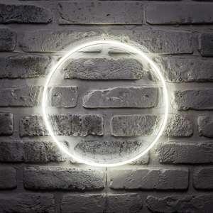Lights 4 fun circle neon wall light £19.99 + £2.99 del @ Lights 4 fun