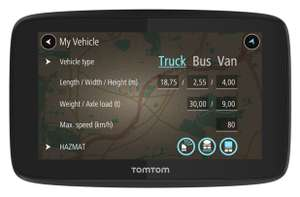 TomTom GO Professional 520 5 Inch EU Traffic Truck Sat Nav £199.99 free click and collect at Argos