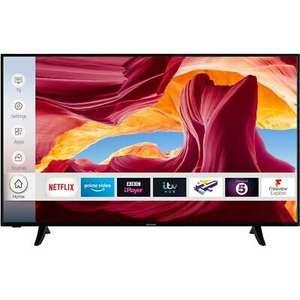 Techwood 55AO9UHD 55 Inch TV Smart 4K Ultra HD, Dolby Vision, HDR10, Alexa - £303.05 with code at AO/ebay