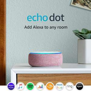 Echo Dot 3rd Gen £0.99 + 1 month Amazon Music Unlimited = £8.98 Prime / £10.98 non Prime (+£4.49) New music customers @ Amazon