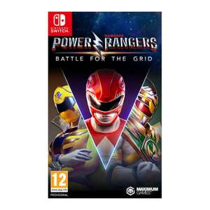 Power Rangers: Battle for the Grid - Collector's Edition (Switch) Pre-order £21.95 delivered at The Game Collection