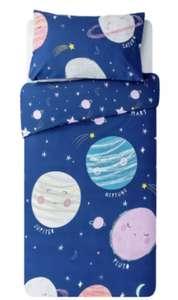 Argos Home Planet Bedding Set - Toddler bed size £3.75 @ Argos (Free C&C / Limited Stock)