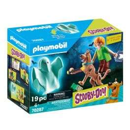 Playmobil 70287 Scooby-Doo Scooby and Shaggy with Ghost - £13.54 delivered @ Uber Kids