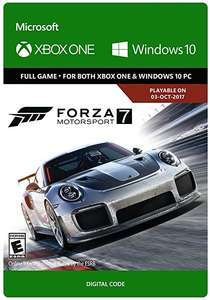Forza Motorsport 7 (Windows 10 / Xbox One) £14.99 @ Microsoft Store