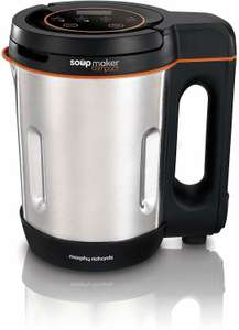 Morphy Richards Compact Soup Maker 501021 Stainless Steel 1 Litre, 900W - £28.89 @ Amazon