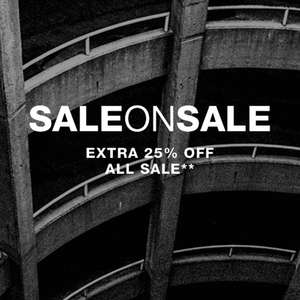 Extra 25% off all Sale until Sunday at DC Shoes online