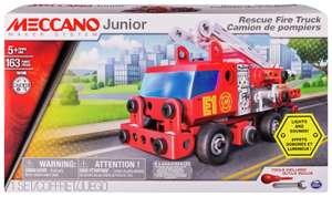 Meccano Junior Rescue Fire Engine Building Set £8.99 at Argos