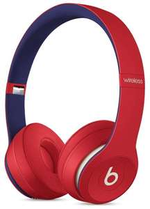 Beats Solo3 Wireless On-Ear Headphones - Apple W1 Headphone Chip, Class 1 Bluetooth, 40 Hours Of Listening Time - Club Red £129 Amazon