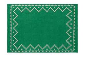 Habitat Mohan Green flatweave reversible wool rug 140 x 200cm for £90 delivered using code @ Habitat
