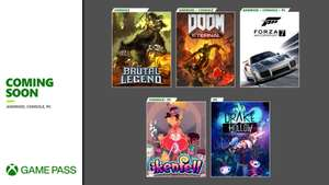 Xbox Game Pass Additions - Brütal Legend, Forza Motorsport 7, Drake Hollow, Ikenfell