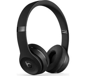 BEATS Solo 3 Wireless Bluetooth Headphones - Black - £129 delivered @ Currys PC World