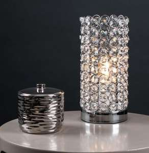 Ducy chrome k9 crystal touch table lamp £20 + £3.95 delivery @ iconic lighting
