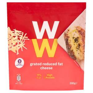Weight Watchers Reduced Fat Grated Mature Cheese 200g for £1 @ Morrisons