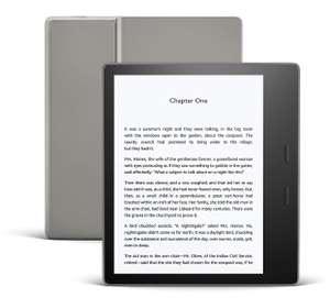 Kindle Oasis   Now with adjustable warm light   Waterproof, 8 GB, Wi-Fi £159.99 @ Amazon (Prime Exclusive)